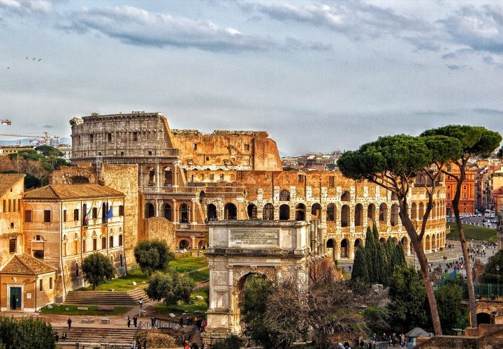 A perfect walking tour in Rome