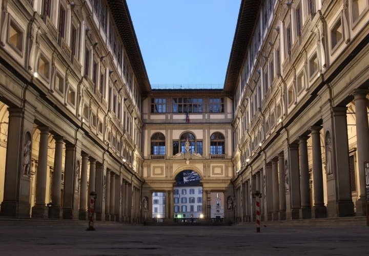 Florence city tour including visit of the Uffizi Gallery with Italian aperitif tasting