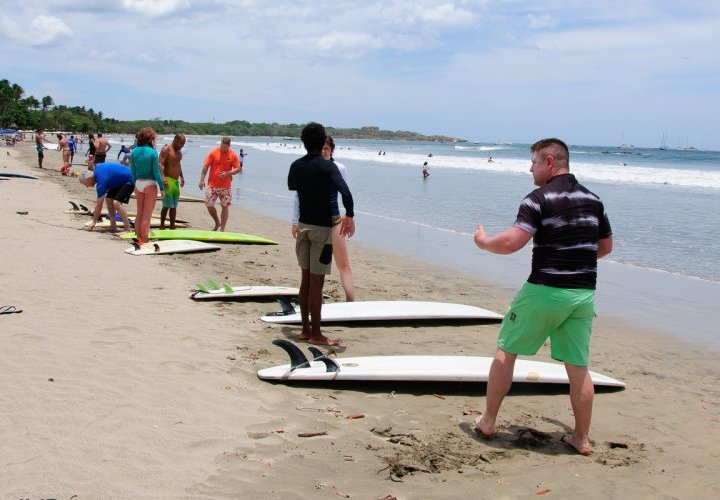 Free time to enjoy Tamarindo Beach in Guanacaste