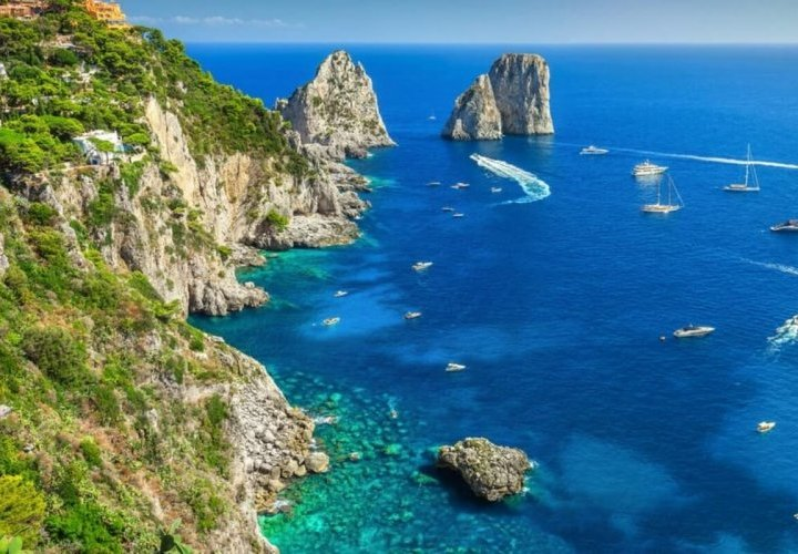 One day Capri Island tour from Sorrento