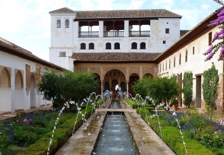 Alhambra and Generalife - one of the most outstanding architectural ensembles of Muslim civil architecture