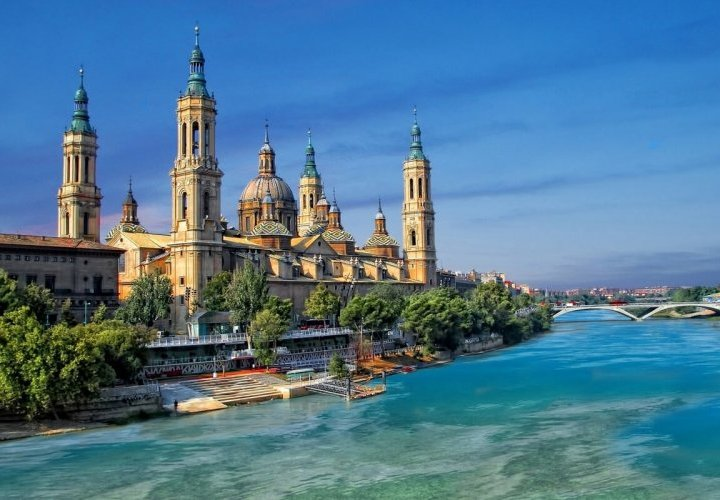 Discovery of Cathedral-Basilica of Our Lady of the Pillar in Zaragoza
