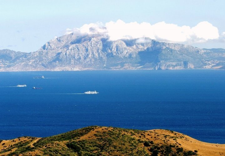 Travel to Morocco crossing the Strait of Gibraltar by ferry