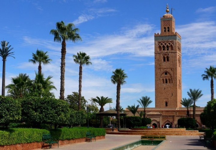 Discovery of Casablanca and guided tour of the city of Marrakesh