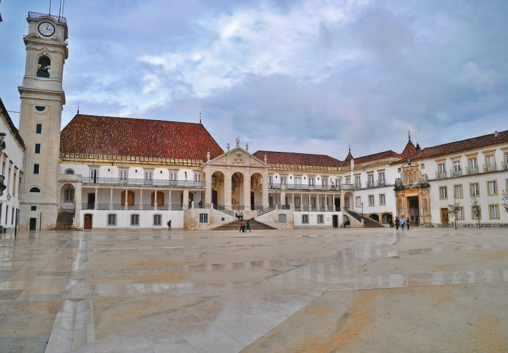 Travel to Coimbra - city of one of the oldest universities in Europe