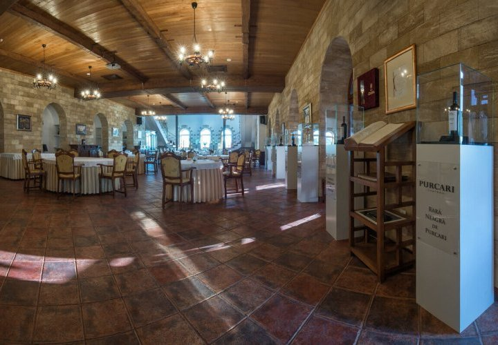 Wine tasting and lunch at Château Purcari winery