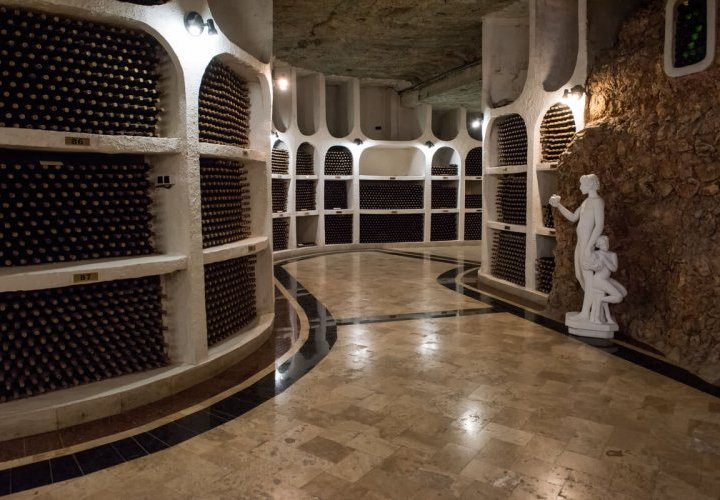 Orheiul Vechi - a 40 thousand year-old natural amphitheater and Cricova winery – one of the largest underground wine cellars in the world