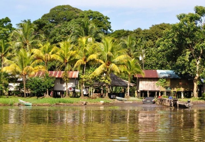 Guided tour in the picturesque village of Tortuguero