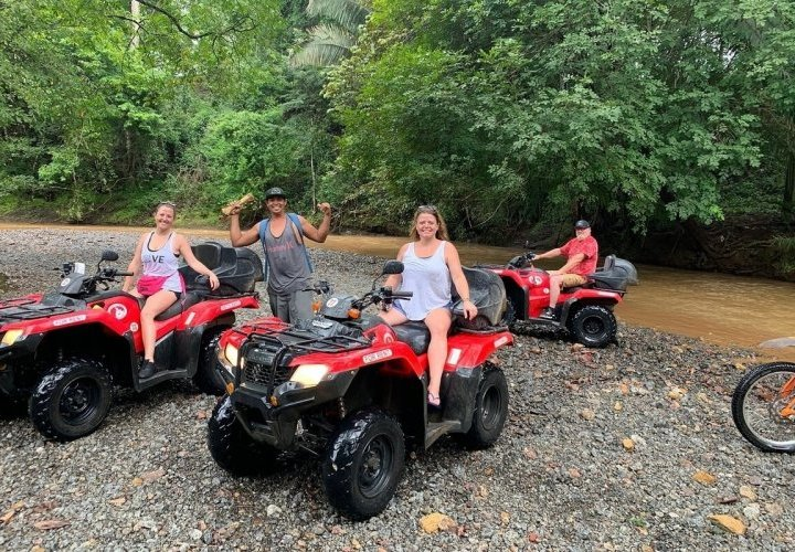Yoga class and ATV tour