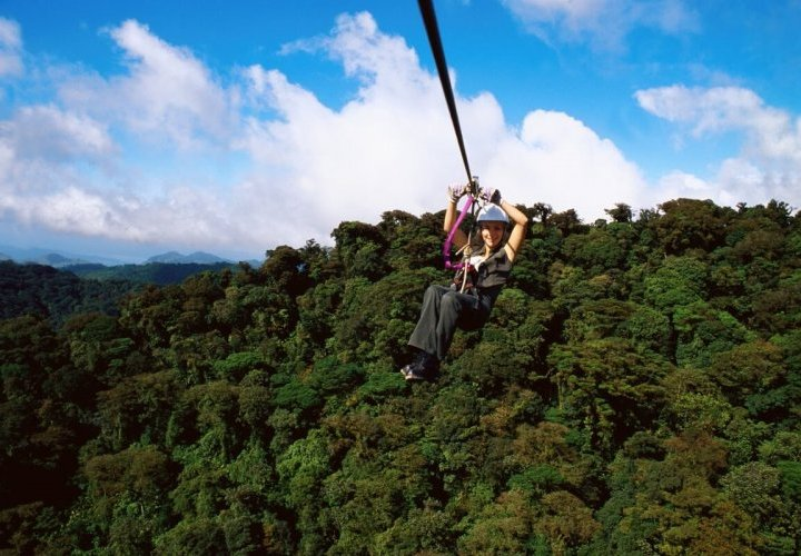 Sky Tram, Sky Trek and Sky Walk at Arenal Volcano National Park