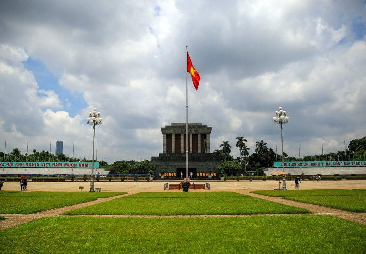 Guided tour of Hanoi city, capital of Vietnam