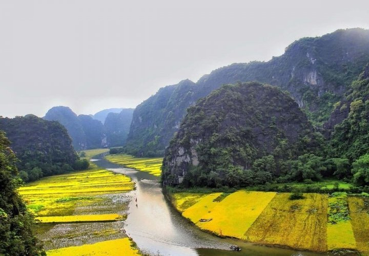 Guided tour in Ninh Binh Province