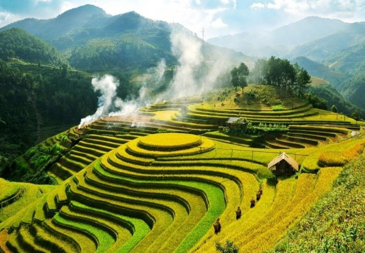 Discovery of the Muong Hoa Valley, popular for its enchanting natural scenery