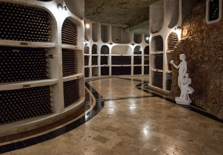 Orheiul Vechi - a 40 thousand year-old natural amphitheater and Cricova winery – the pearl of Moldovan wine-making