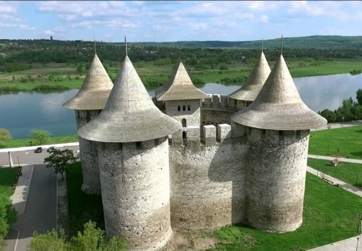 Soroca Fortress - unique historical monument of defensive constructions architecture of medieval Moldova