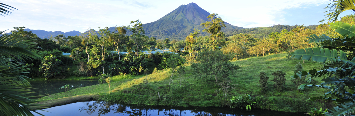 Costa Rica zip line travel experience with lodging at 5-star hotels